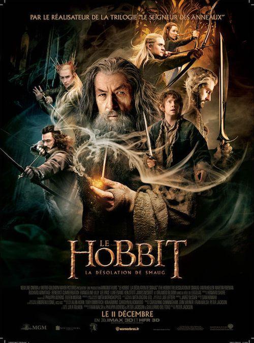 Le Hobbit - La Désolation de Smaug affiche