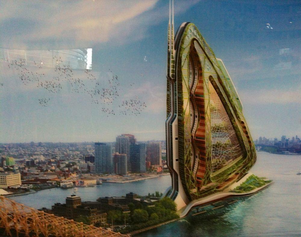 Utopiales 2013 - expo Vincent Callebaut 01