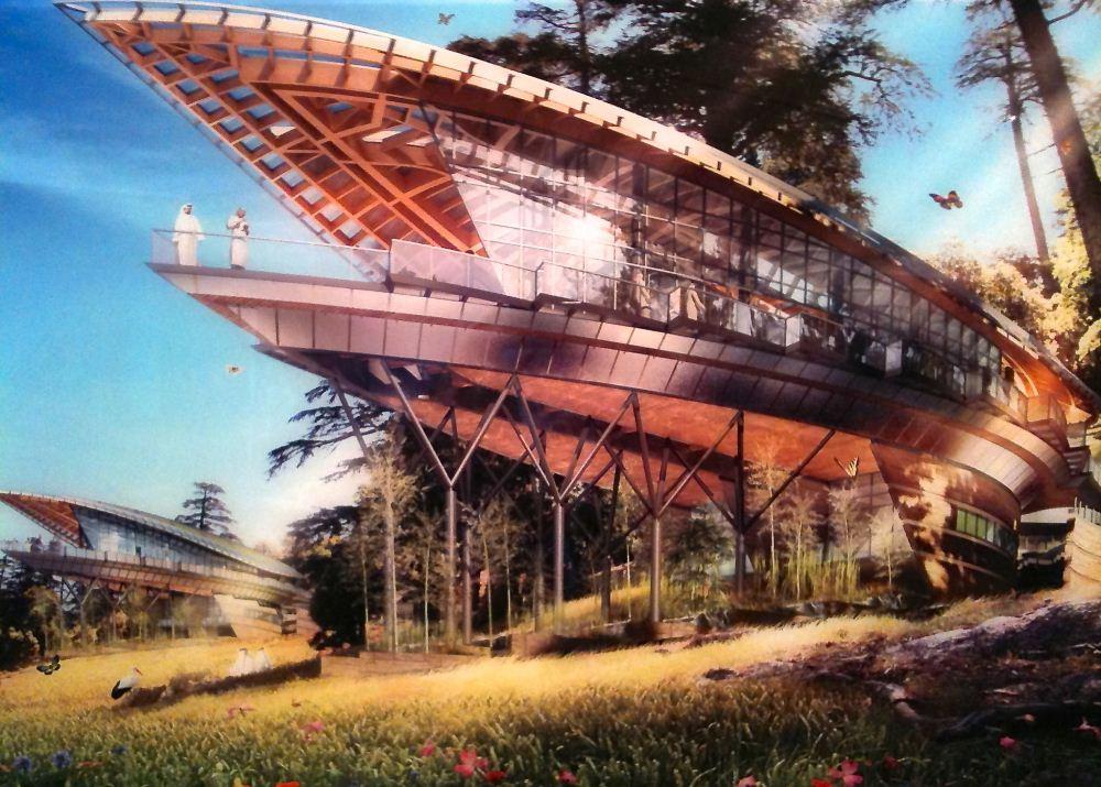 Utopiales 2013 - expo Vincent Callebaut 02