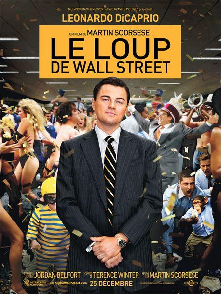 Le loup de Wall-Street - affiche