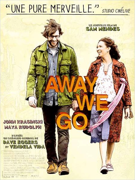Away we go - affiche