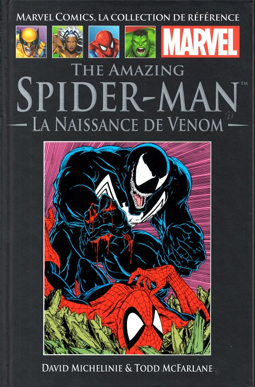 Comics Hachette 05 - The Amazing Spider-Man, La Naissance de Vénom