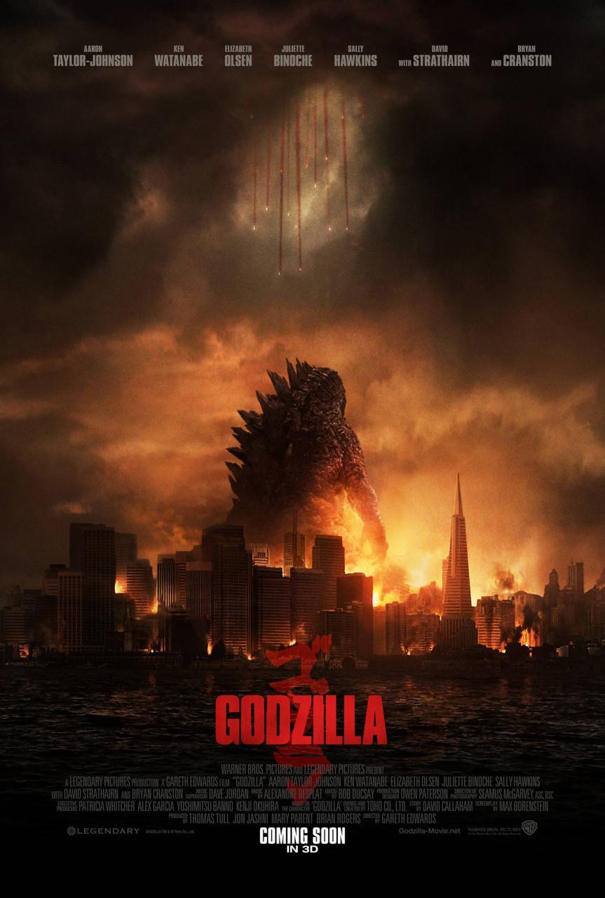 Godzilla - affiche
