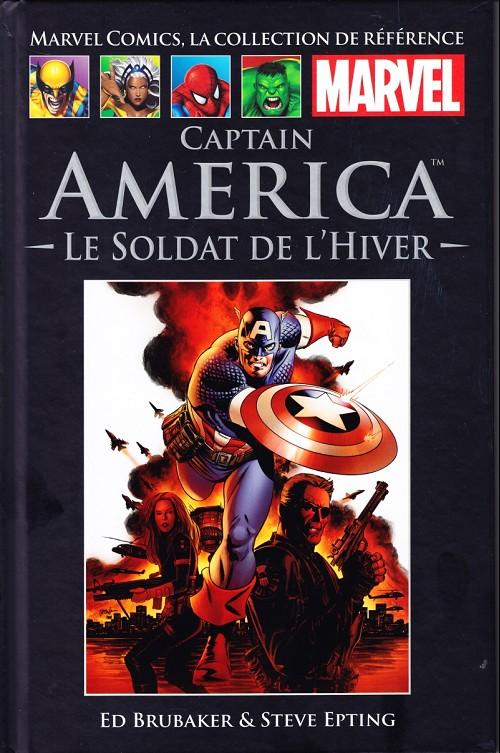 Comics Hachette 10 - Captain America, Le Soldat de l'Hiver
