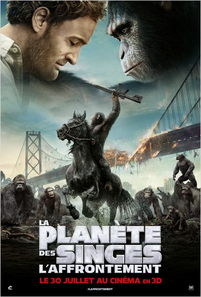 Planète des singes l'affrontement-affiche