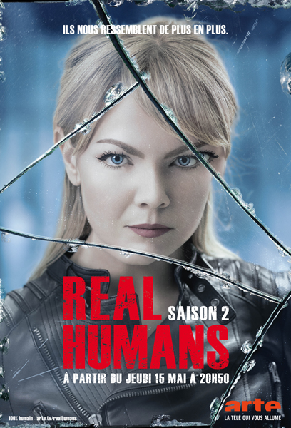 Real humans saison 2 - affiche