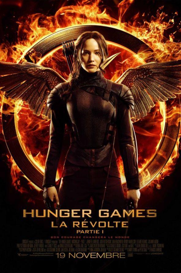 Hunger games - La révolte partie 1 - affiche