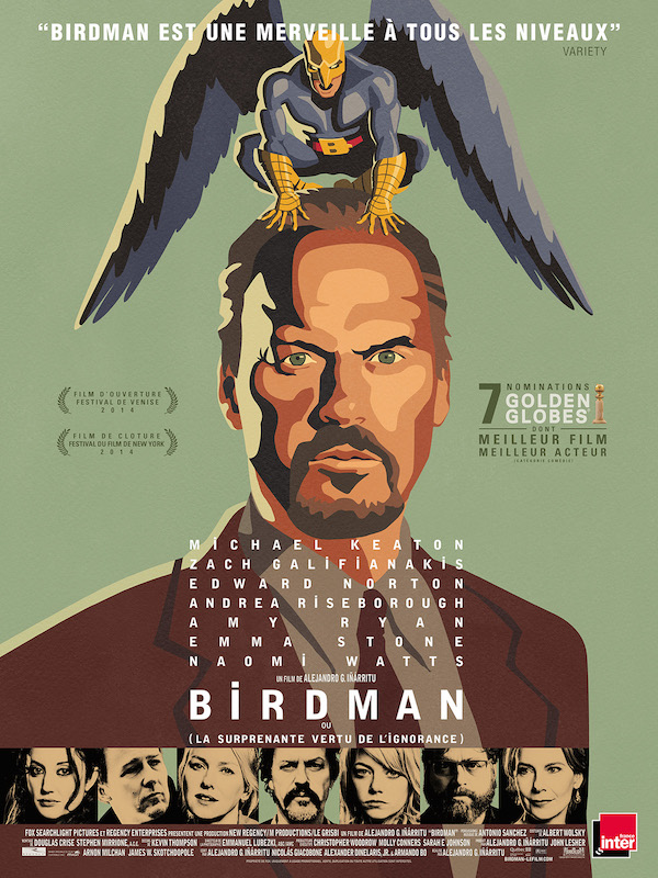 Birdman - affiche
