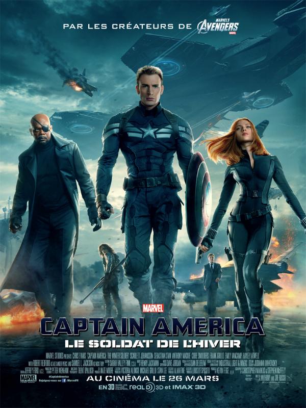 Captain America Le soldat de l'hiver - affiche