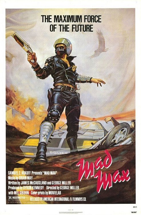 Mad Max 1 - affiche