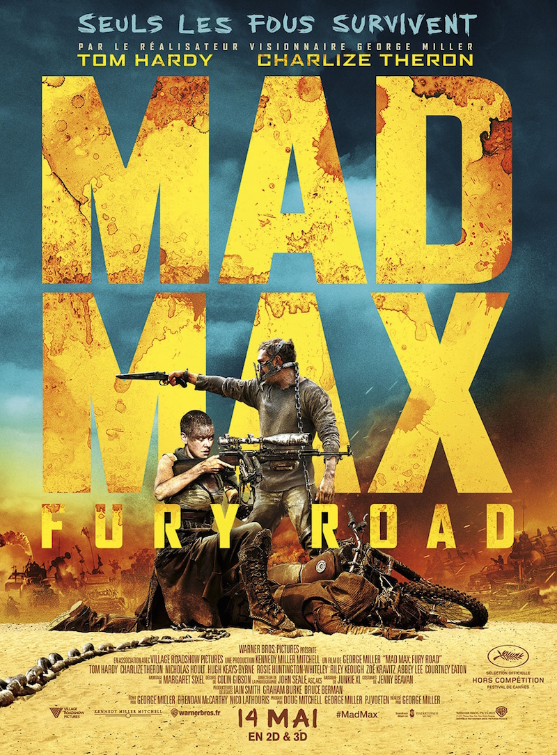 Mad Max Fury Road - affiche 1