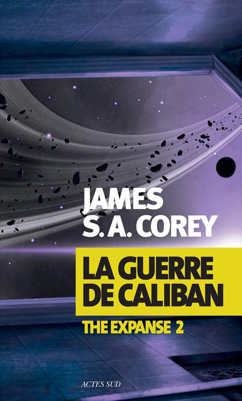 La guerre de Caliban - Corey - couverture