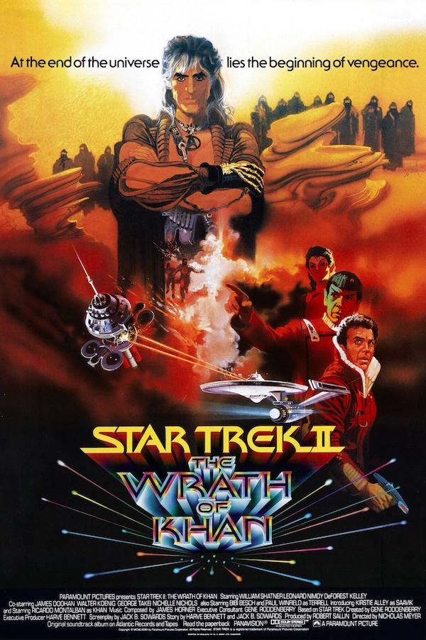 Star Trek II La colère de Khan - affiche