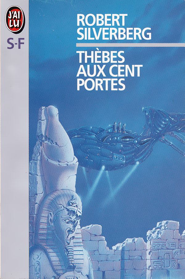 Thèbes au cent portes - Silverberg - couverture