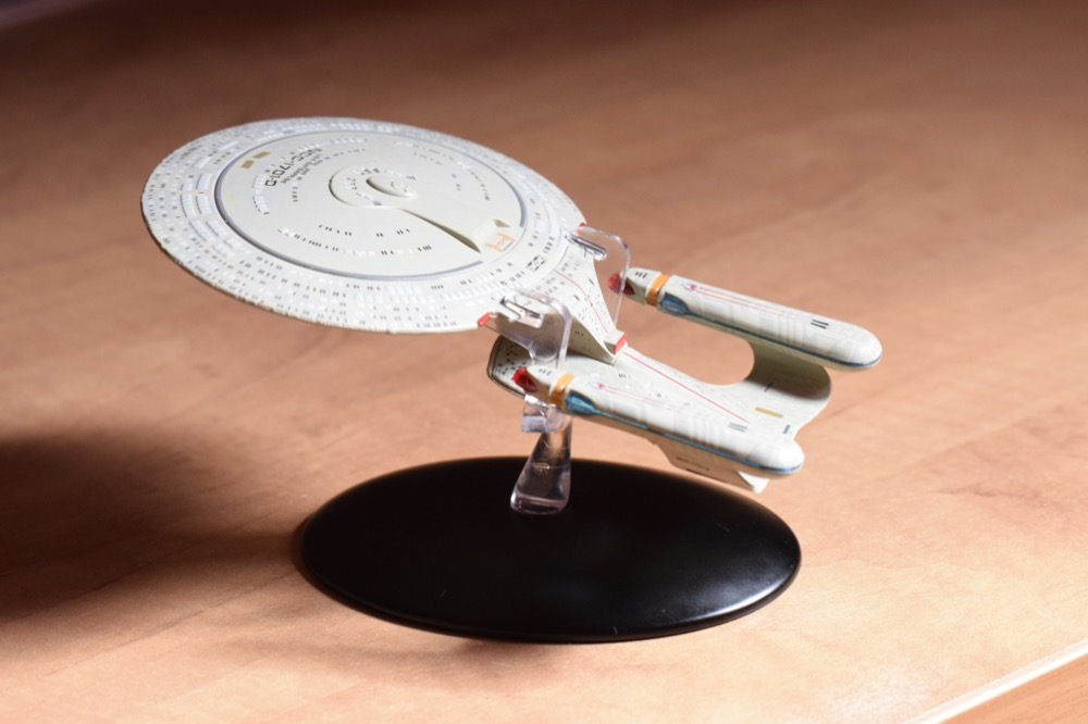 Vaisseaux Star Trek - Enterprise-D - 01