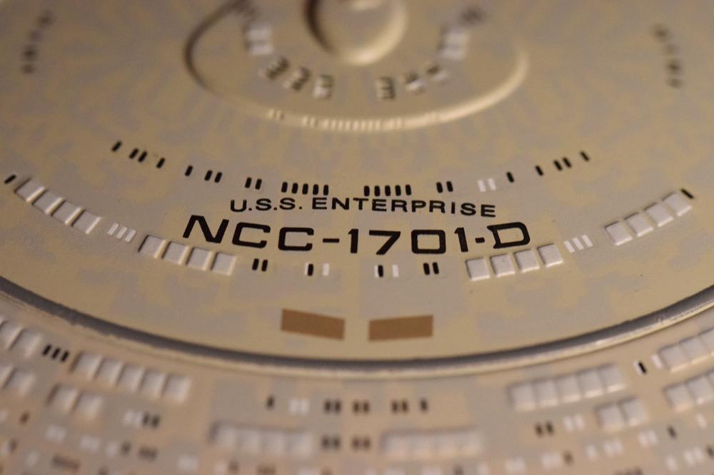 Vaisseaux Star Trek - Enterprise-D - 08