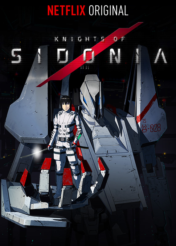 Knights of Sidonia saison 1 - affiche