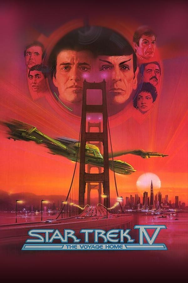 Star Trek IV - Retour sur Terre - affiche