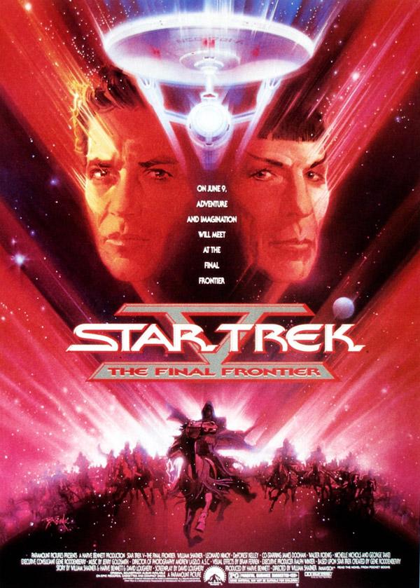Star Trek V - L'ultime frontière - affiche