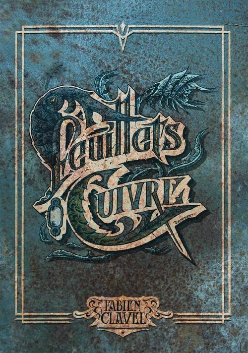 Feuillets de cuivre - Clavel - couverture