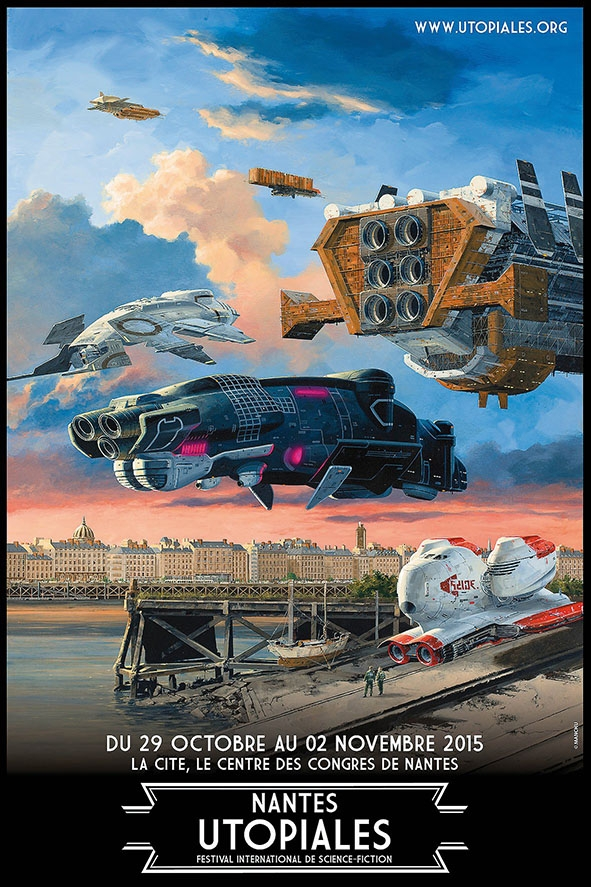 Utopiales 2015 - affiche Manchu