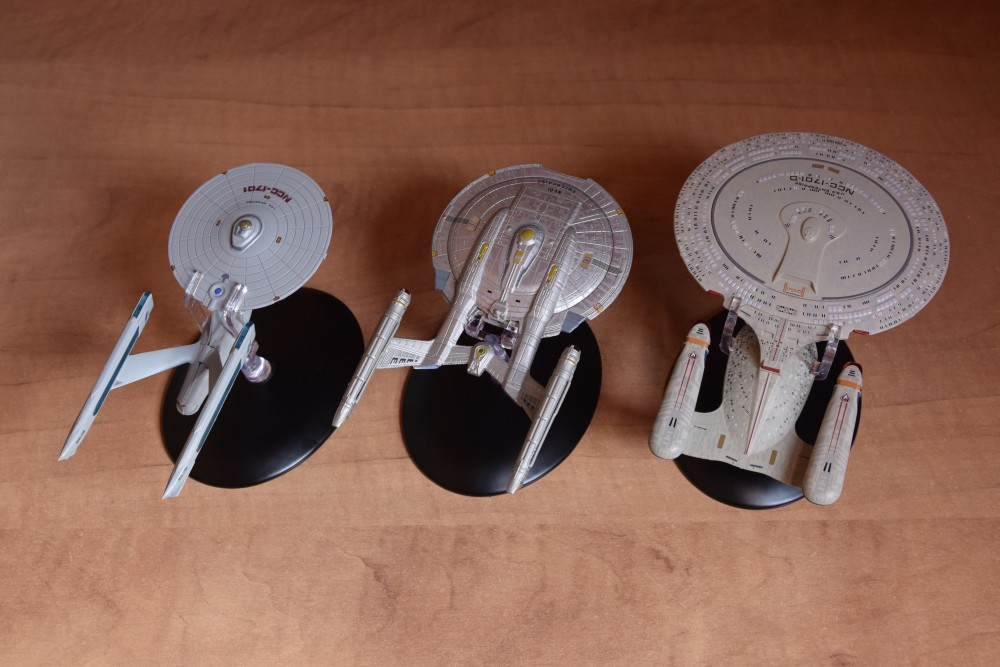 Vaisseaux Star Trek - Enterprise-D - NCC-1701 - NX-01 - 01