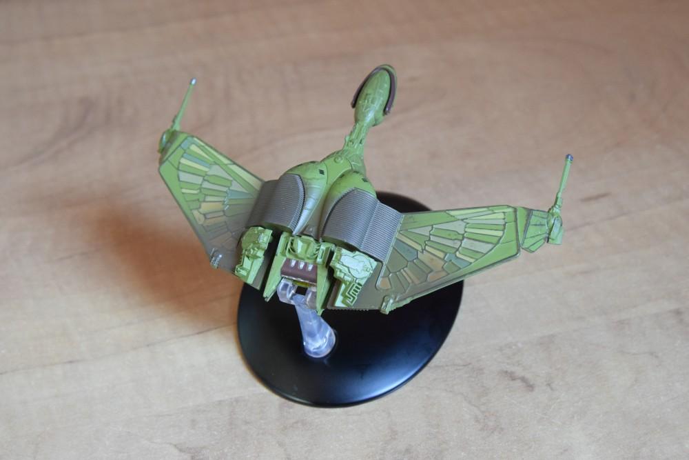 Vaisseaux Star Trek - Oiseau de proie klingon - 02