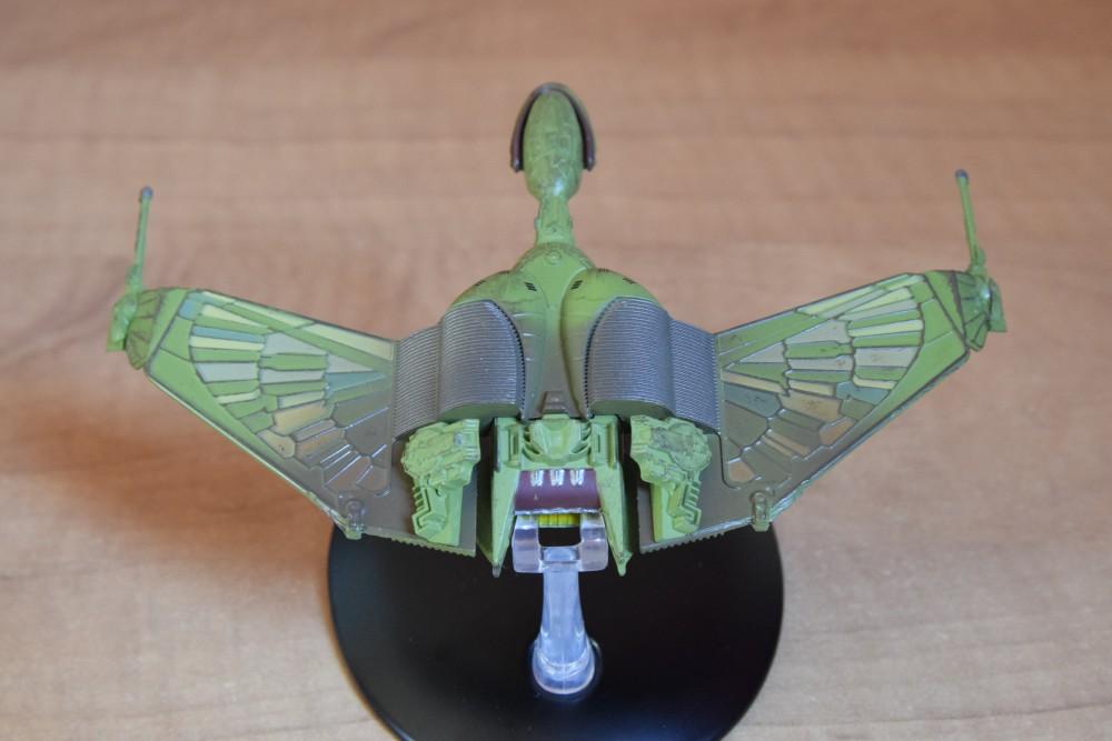 Vaisseaux Star Trek - Oiseau de proie klingon - 03