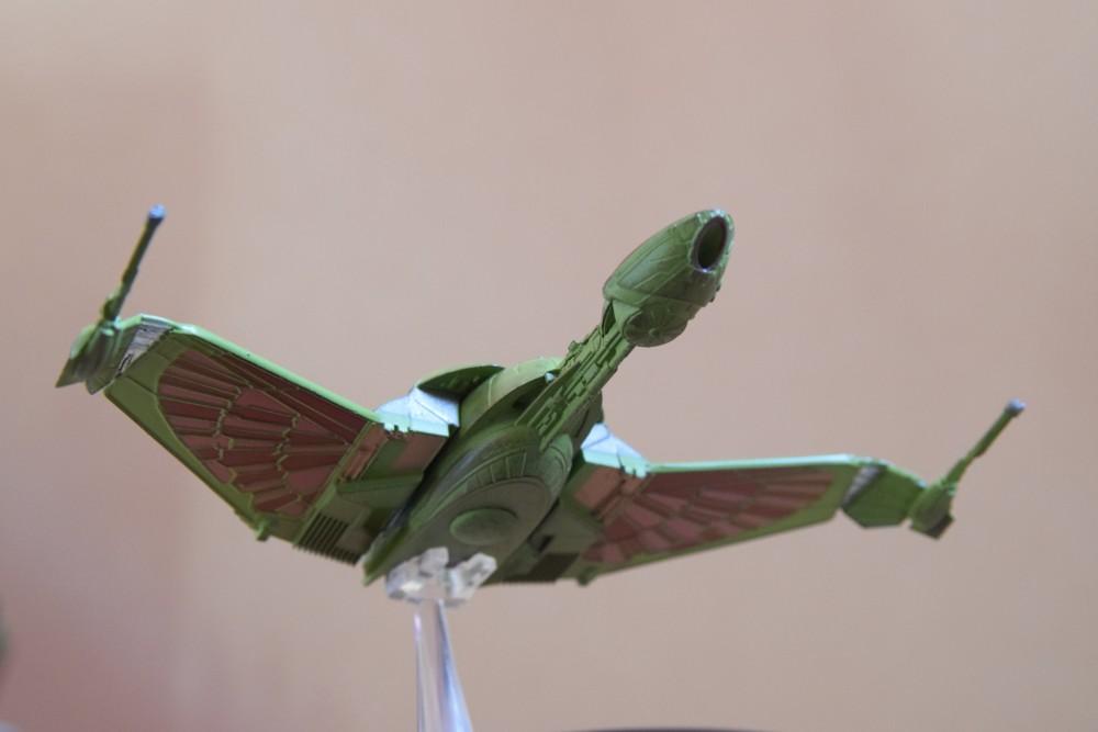 Vaisseaux Star Trek - Oiseau de proie klingon - 05