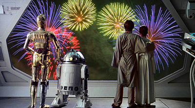 Bonne année Star Wars