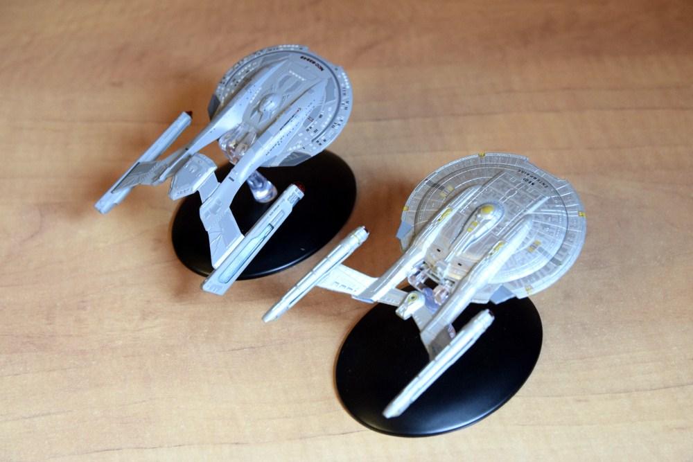 Comparaison Akira Class Enterprise NX01 - 01