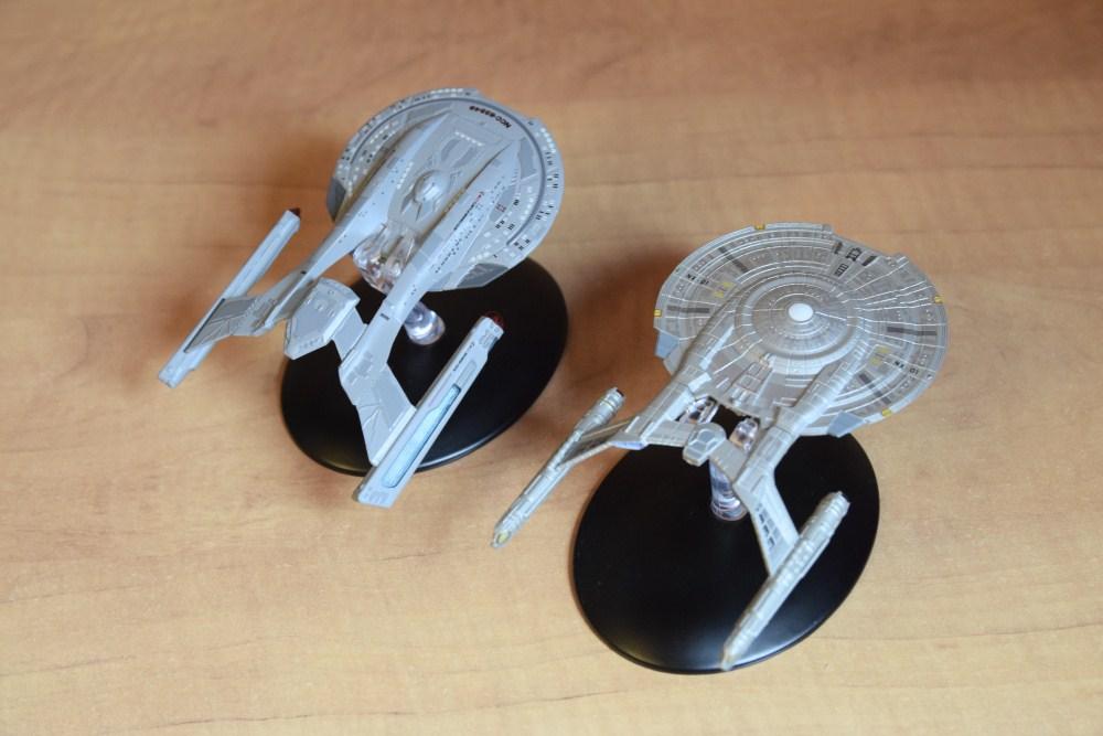 Comparaison Akira Class Enterprise NX01 - 02