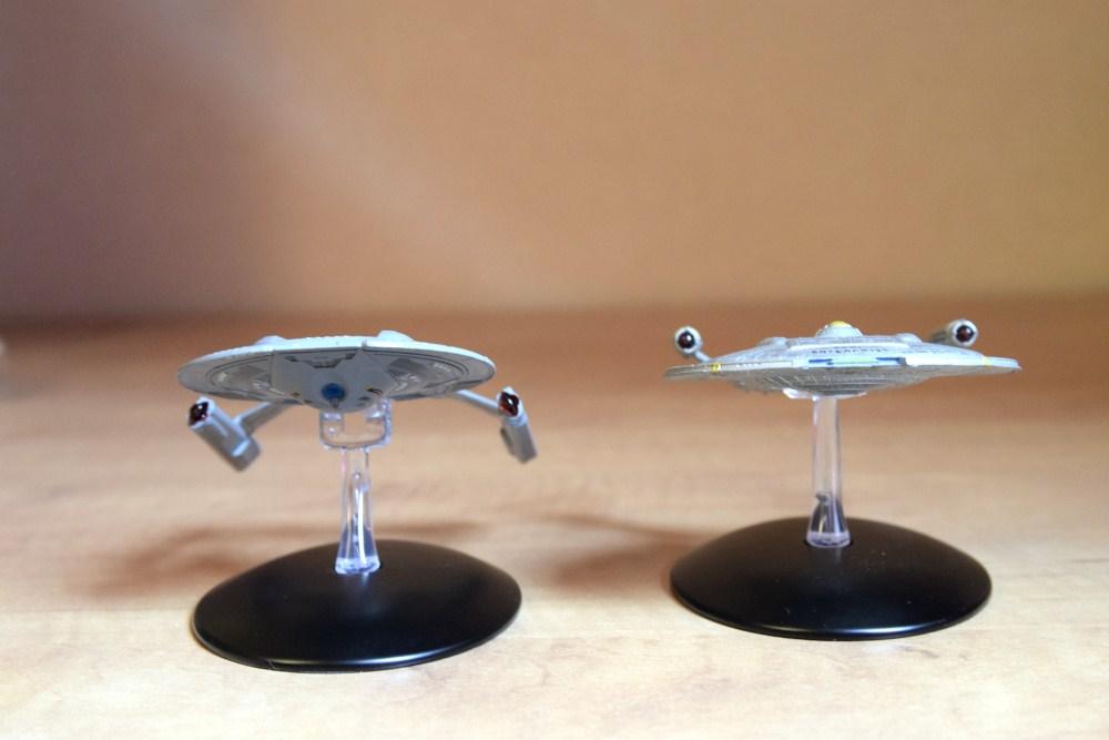 Comparaison Akira Class Enterprise NX01 - 03