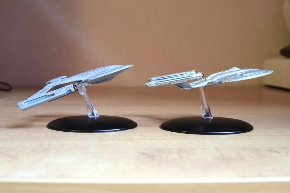Comparaison Akira Class Enterprise NX01 - 04