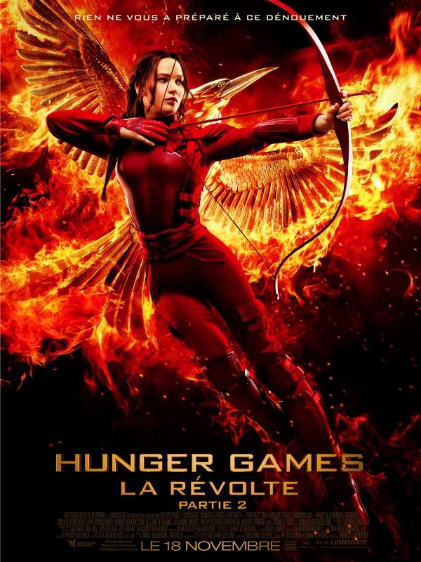 Hunger Games la révolte partie 2 - affiche