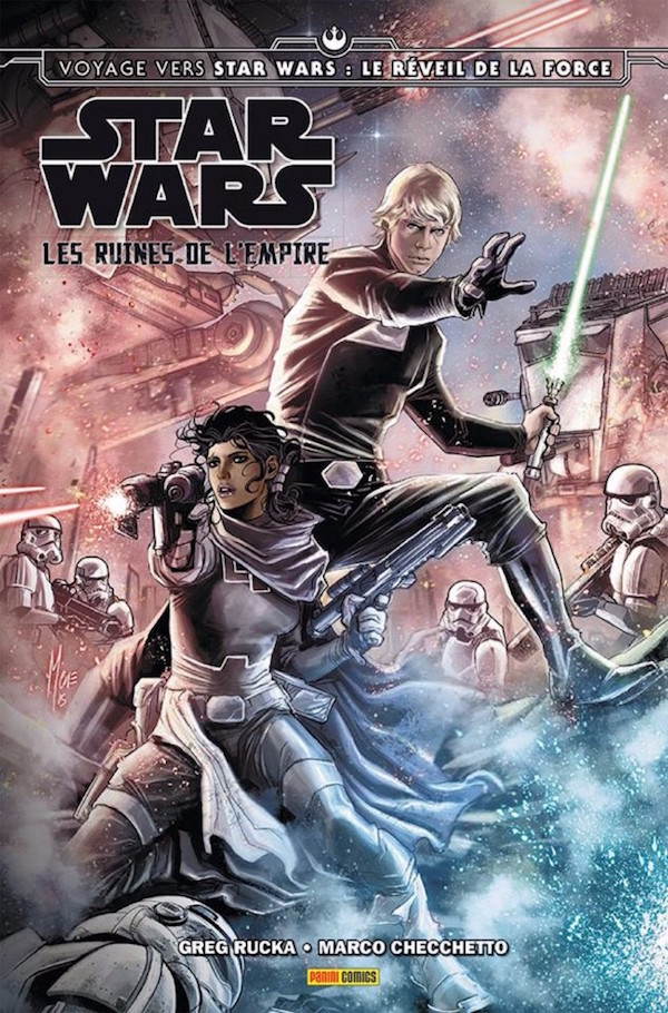 Star Wars Les ruines de l'Empire Panini - couverture