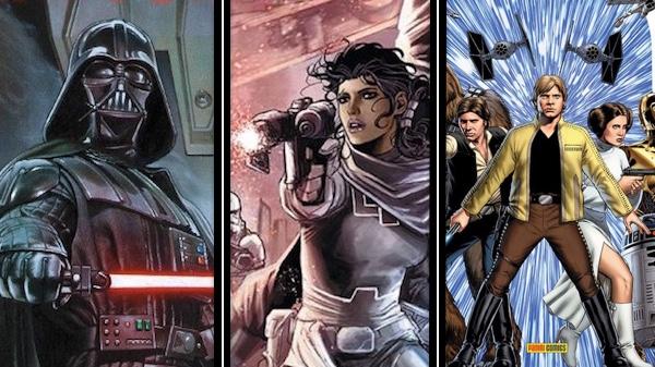 Star Wars comics - episode 1 - une
