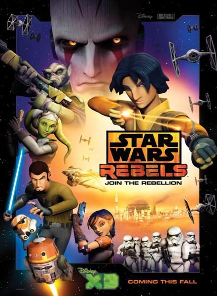 Star Wars Rebels saison 1 - affiche