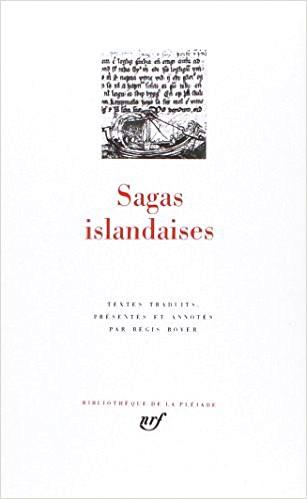 Sagas islandaises - Boyer - couverture