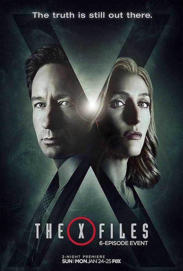 X-files saison 10 - affiche