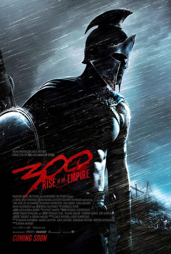 300 la naissance d'un empire - affiche