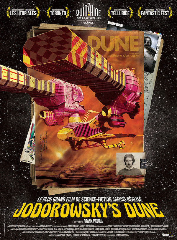 Jodorowsky's Dune - affiche