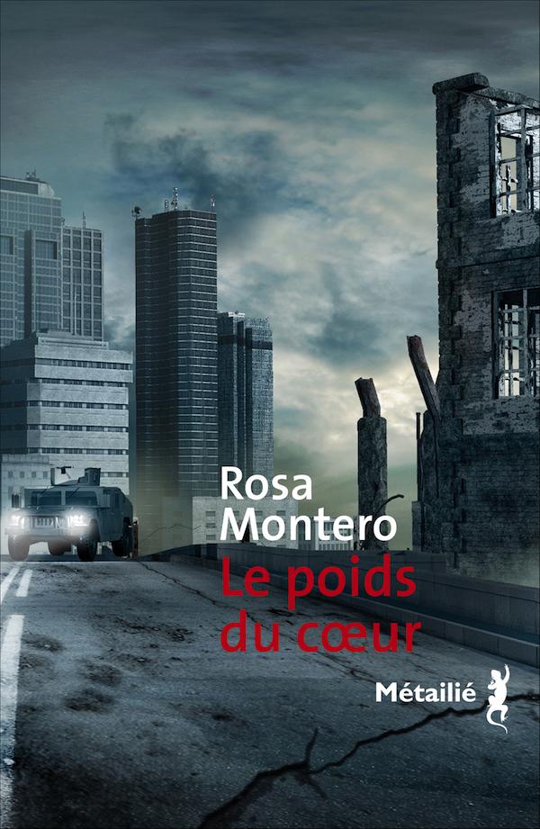 Le poids du coeur - Montero - couverture