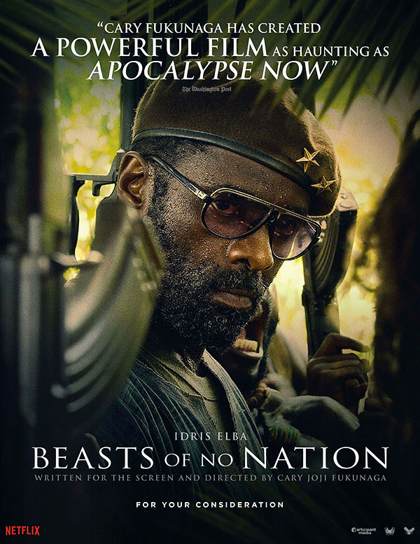 Beasts of no nation - affiche