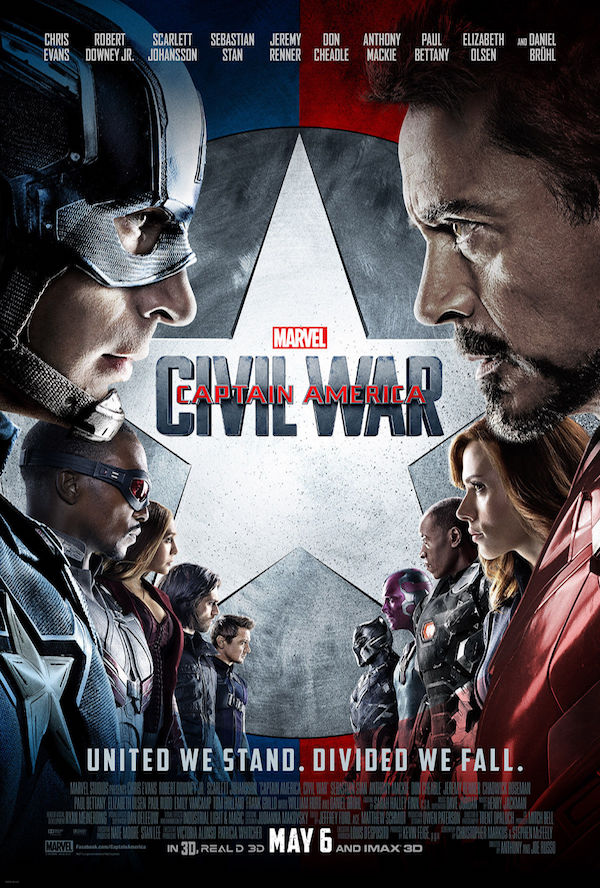 Captain America Civil War - affiche