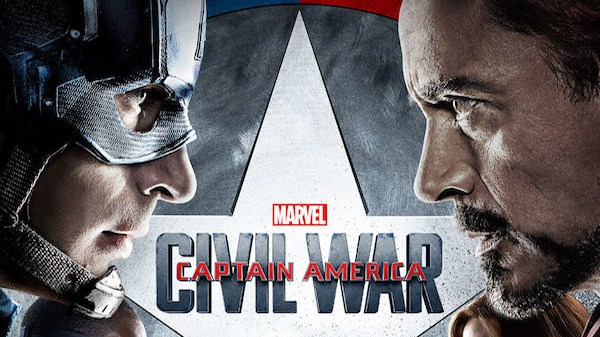 Captain America Civil War - une