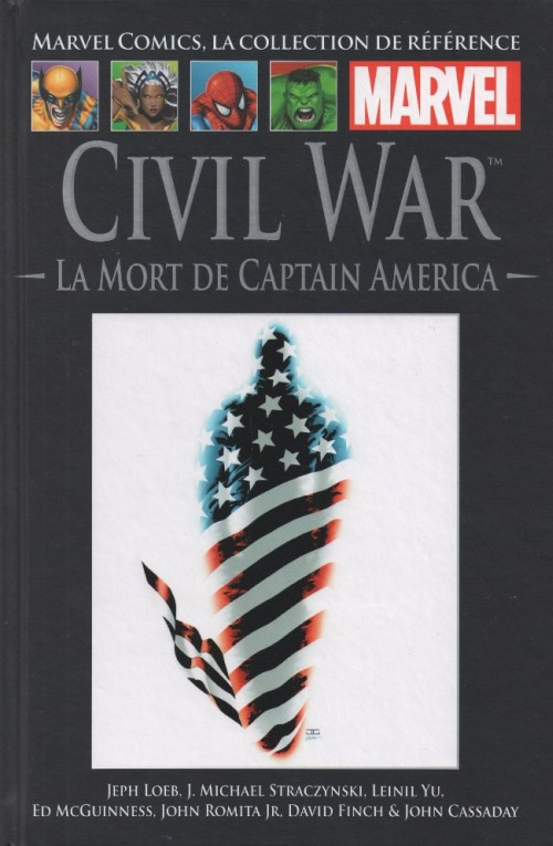 Comics Hachette 46 - Civil War La Mort de Captain America