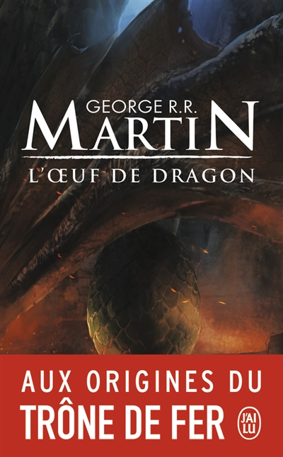 L'oeuf de dragon - Martin - couverture