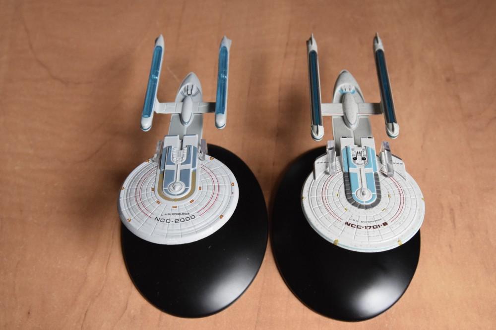 USS Enterprise B et Excelsior 01