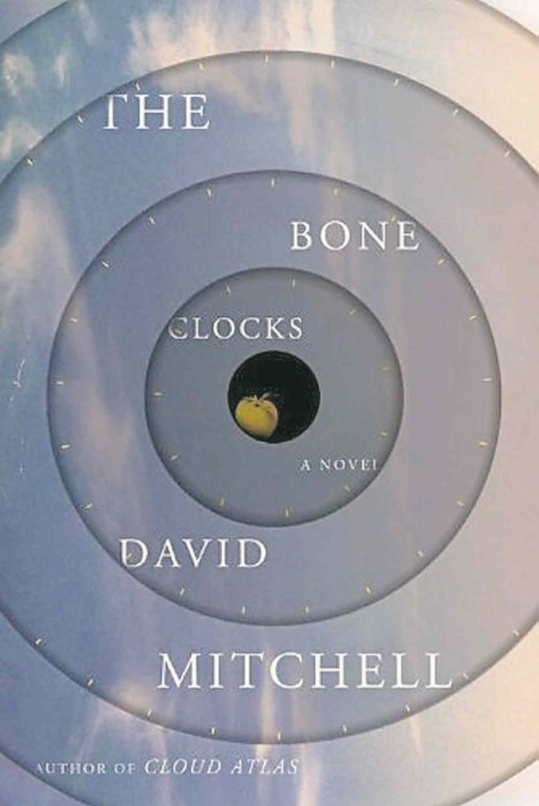 The bone clocks - mitchell - couverture
